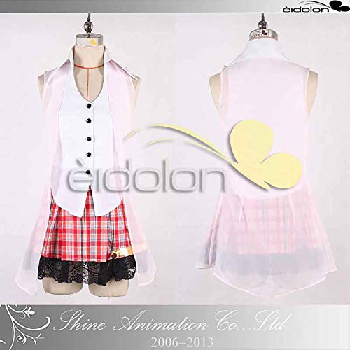 Final Fantasy XIII Sarah Cosplay Halloween Costume Game for Cosplay Show Party Women Girl,XL -