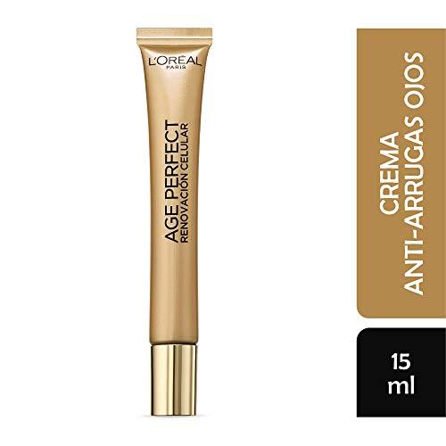 L'Oreal Paris Crema Antiarrugas Ojos, Age Perfect, 15 ml