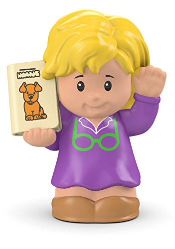 Fisher Price Little People Librarian Figure
