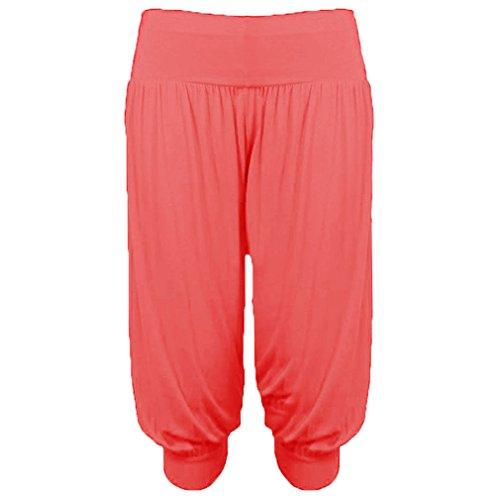 Coral Capri TeeJeans Donna TeeJeans Pantaloncini Capri Pantaloncini 7vaqp6v