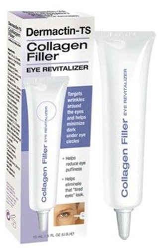 Dermactin-TS Collagen Filler Eye Revitalizer, .5 Ounce Collagen Filler Eye