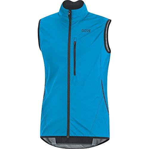 GORE Wear Men's Windproof Cycling Vest, GORE Wear C3 GORE Wear WINDSTOPPER Light Vest, Size: L, Color: Dynamic Cyan, - Vest Men Cycling