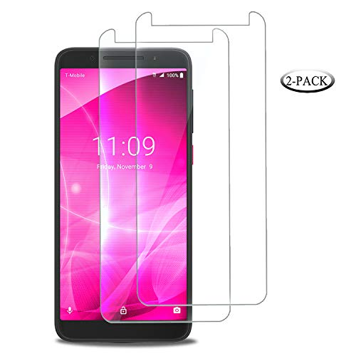 [2-Pack] CasemartUSA for [TMOBILE REVVL 2 (5.5)(2nd Generation)], Clear [Tempered Glass] Screen Protector [Anti-Scratch][Bubble Free] High Definition Guard for T-Mobile REVVL 2 (5.5 inch)(2nd Gen)