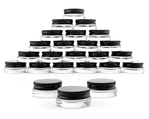 Glass Lip Balm Containers - 8
