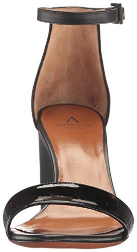 Sandal K Nina Marvin Black black Women Dress Calf Aquatalia Black Black Patent by nE8AOqwIHx