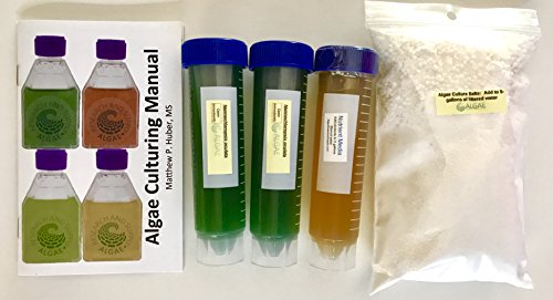 Algae Research and Supply: Algae Culture Kit: Grows 5 Gallons of Nannochloropsis