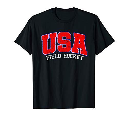 Field Hockey Shirt-USA Field Hockey T shirt