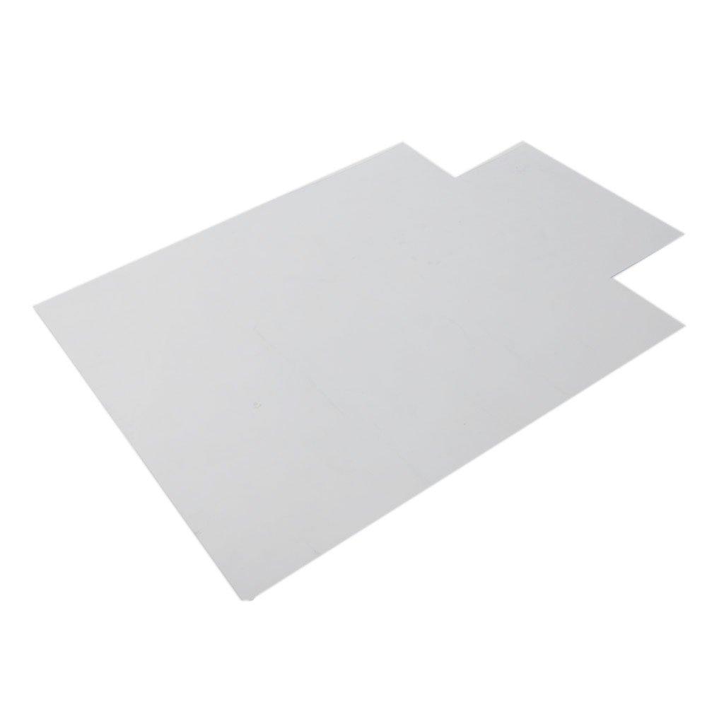 High Qulity Office Desk Chair Floor Mat Protector Hard Plastic Rug PVC Computer for Hard Wood Floors 48'' x 36'' by USAStock