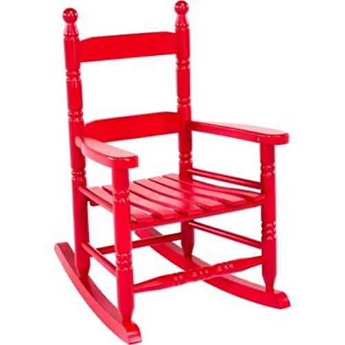Classic Rocking Chair for Children, Red