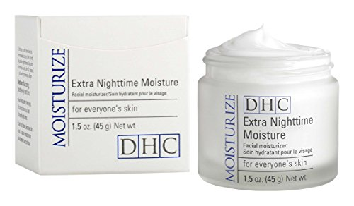 DHC Extra Nighttime Moisture 1.5 oz. Net wt. (And Cosmetics Care Skin Dhc)