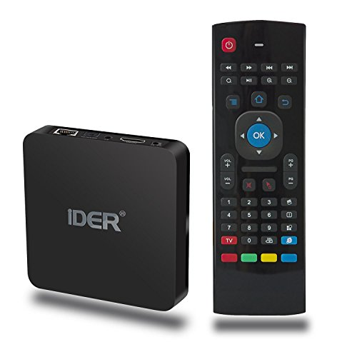 Lowest Price! Android 6.0 TV Box with Air Mouse Remote, IDER S21 Amlogic S905x Quad Core Smart Box S...