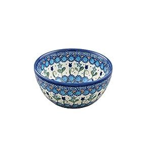 Boleslawiec Style Pottery Hand Painted Polish Ceramic Venus Bowl (13) 071-U-006