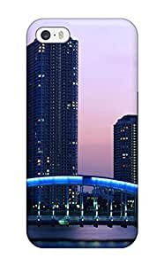Iphone 5/5s Cover Case - Eco-friendly Packaging(tokyo City )