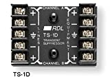 RDL ST-LCR1H Logic Controlled Relay High Power 8 Amp Contacts Switching of Speaker Lines - Power Supply Included