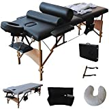 """Product review for 84""""L Massage Table Portable Facial SPA Bed W/Sheet+Cradle Cover+2 Pillows+Hanger"""