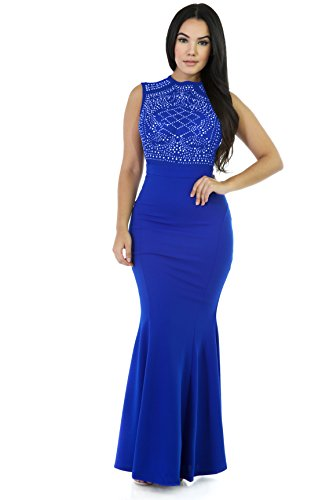 Beading Long Evening Dress - 6