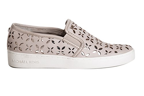 MICHAEL KORS KEATON SLIP ON CEMENT/SILV