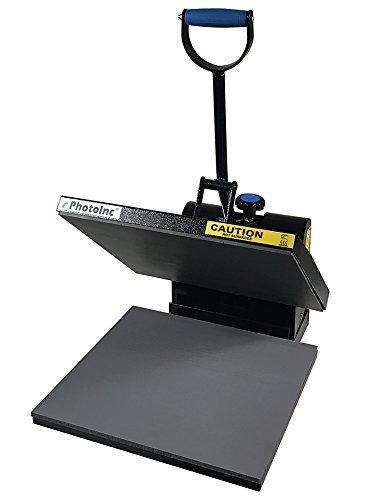 ePhotoInc Digital T Shirt Heat Press Machine Industrial Quality Printing Press EPH15BLK by ePhotoinc