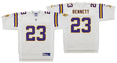 Minnesota Vikings Mens NFL Football Jersey Michael Bennett #23 White (X Large) ()