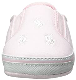 Ralph Lauren Layette Bal Harbour Repeat Slip On (Infant/Toddler), Pink Jersey, 3 M US Infant