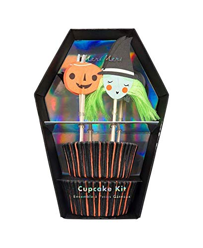 Meri Meri, Spooky, Cupcake Kit - Pack of 24 -