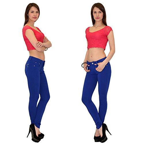 Pour Et Chic Travail Femmes T01 Pantalon T01 Femme En Couleurs Pantalons Jeggings tex Plusieurs By bleuroyal Le RqCfq