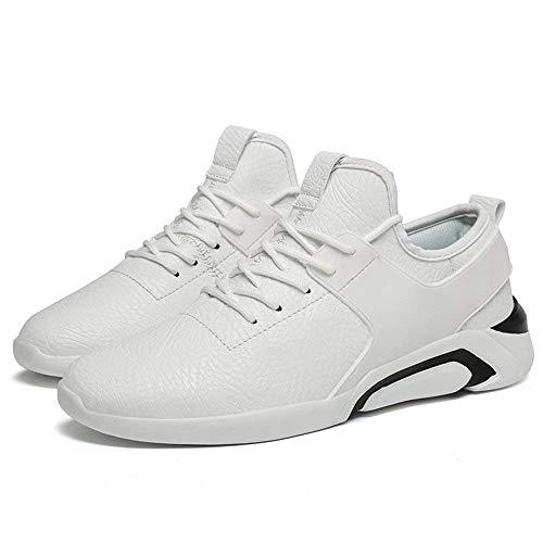 scarpe alla Eu British Oudan corsa da è moda uomo 2018 Colore Athletic Taglia Bianco Sneakers Round con Bianco Toe sue leggere 43 Style le di Casual da Tops wqZvxF