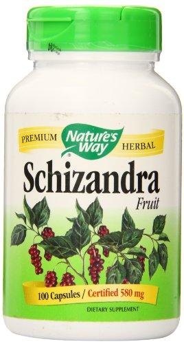 Nature's Way Schizandra Fruit -- 100 Capsules