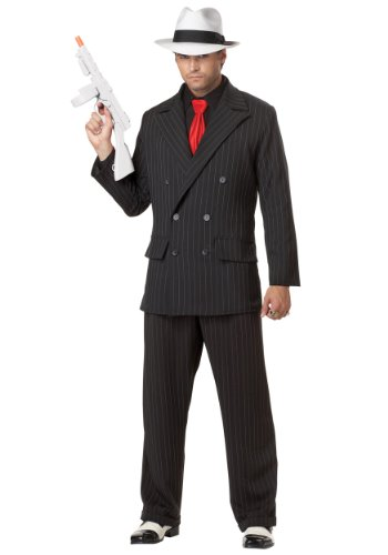 [California Costumes mens Mens Mob Boss Costume Small] (20s Gangster Adult Costumes)