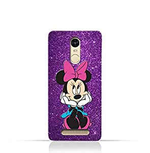 Xiaomi Mi Note TPU Silicone Case with Minnie Mouse Lovely Smile Design