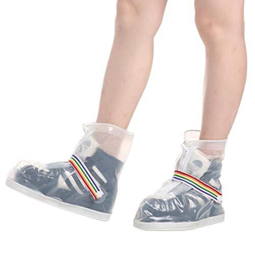 Pliables Pour chaussures Moto Hommes Femmes dérapants Vélo Réutilisables Luckybaby Imperméables Shoes Rain Enfants Couvre Anti Cover wHvFf8