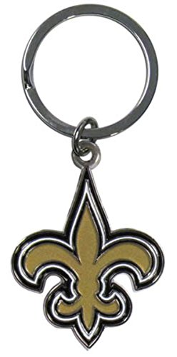NFL Officially Licensed Chrome Key Chain (NEW ORLEANS - Saint Outlet Louis