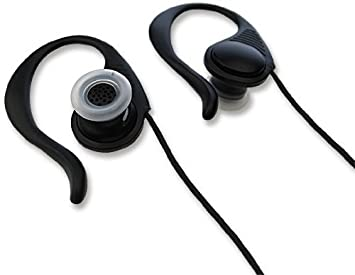 RS Earphone 02 Black Reverse Sound System Sports Model Earphone