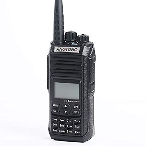 136-174Mhz VHF /& 400-480Mhz UHF Jingtong JT-5988HP V2 High Power 12-Watt Tri-Power Dual Band Portable Two Way Radio Ham Amateur Handheld Transceiver