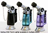 GStar® TorchZilla series Hookah Table Torch Lighter with Bendable Angled Head in Assorted colors