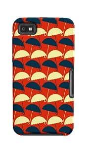 Case-Mate DY100608 Best of British Umbrella - Carcasa de silicona para BlackBerry Z10, diseño de paraguas