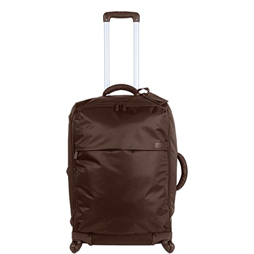 lipault-paris-upright-25-4-wheeled-carry-suitcase-brown