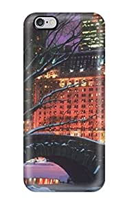 For JessicaBMcrae Iphone Protective Case, High Quality For Iphone 6 Plus Christmas 2 Skin Case Cover by icecream design
