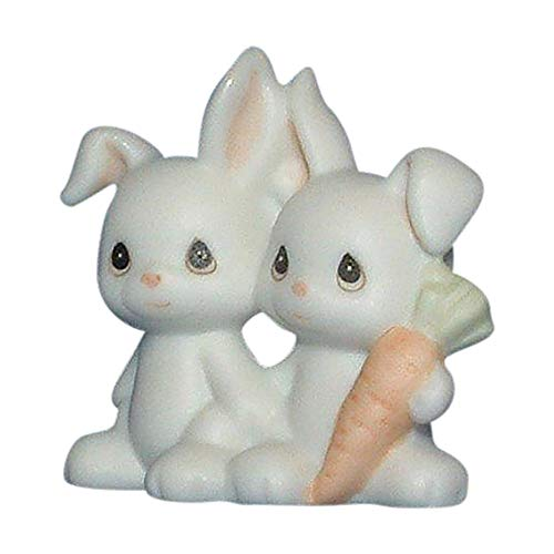 Precious Moments Two by Two Bunnies Figurine 530123 ()