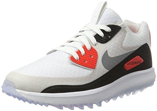 Nike Air Zoom 90 Scarpe Da Golf Spikeless 2017 Donna Bianco / Grigio Freddo / Grigio Neutro / Nero