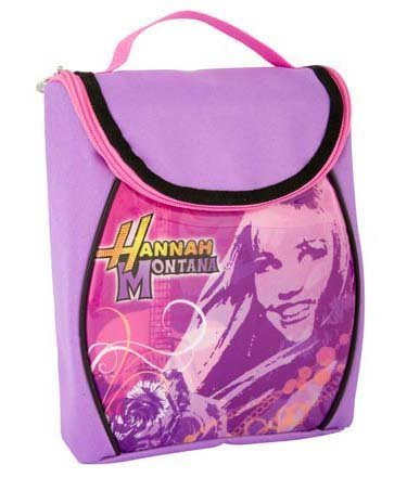 Hannah Montana Insulated Lunch Bag - Lavender