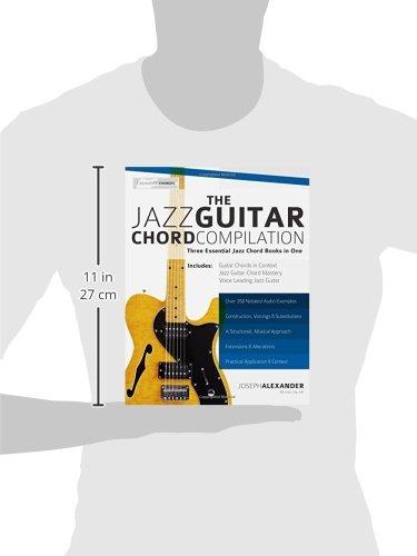 The Jazz Guitar Chord Compilation Three Essential Jazz Chord Books