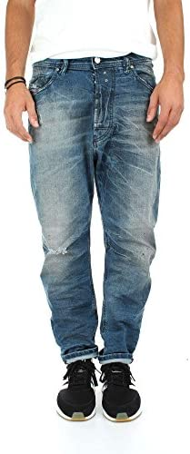 Diesel Herren Stretch Denim Jeans Hose NARROT Blue 084JL