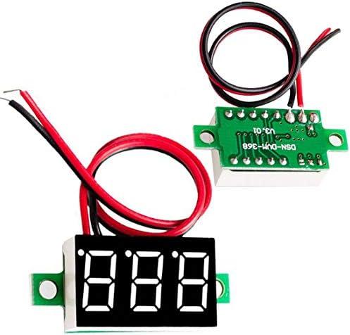 逆転保護V20D 2行DC2.50-30Vデジタル電圧計