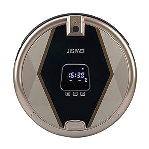 JISIWEI S + Automatique Aspirateur Robot Intelligent Floor Cleaner Intelligent Robot de Nettoyage 1080p Caméra Télécommande IR WiFi / APP