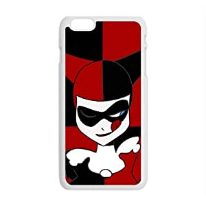 Black and red joker Cell Phone Case for iPhone plus 6