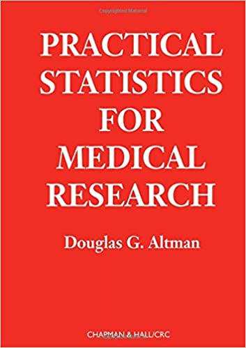 Practical Statistics for Medical Research (Chapman & Hall/CRC Texts