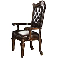 ACME 60004 Vendome Arm Chair, Cherry Finish, Set of 2