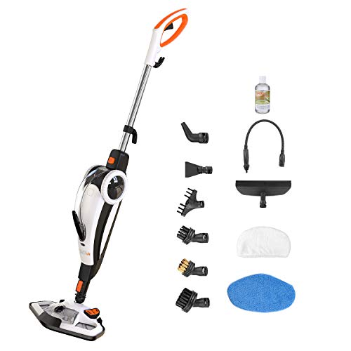 Best Review Of TACKLIFE Steam Mop for Floor Cleaning, Steam Cleaner Multi-Function Foor Steamer and ...
