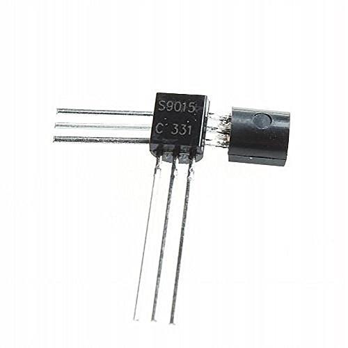 UXOXAS 3-Pin Triode Transistor 9015 S9015 TO-92 (50PCS)